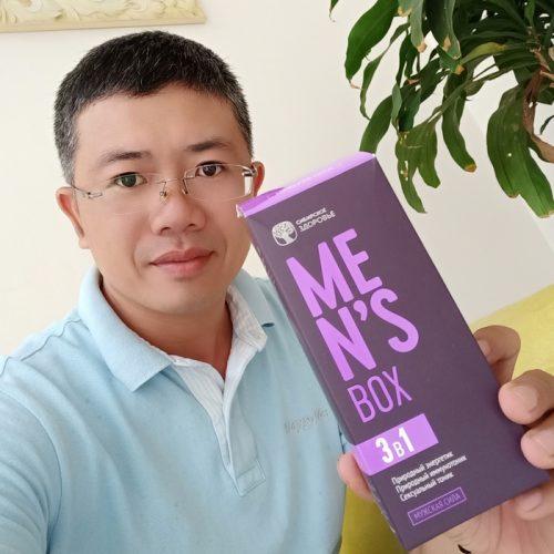 Men's Box tăng cường sinh lý phái mạnh