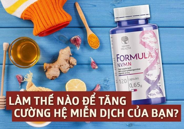 Hoạt chất chống ô-xy hóa phòng ngừa ung thư Formula 4 N.V.M.N