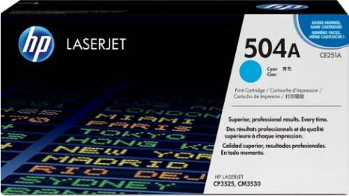 MỰC LASER HP 504A (CE251A) chuyên dụng màu xanh