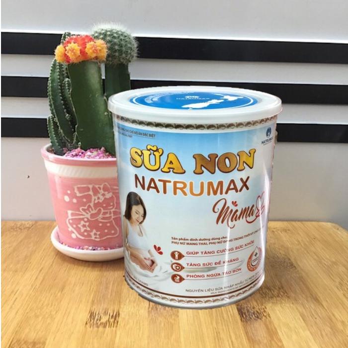 Sữa non chứa vitamin, đạm và dưỡng chất cho mẹ bầu-Natrumax Mama