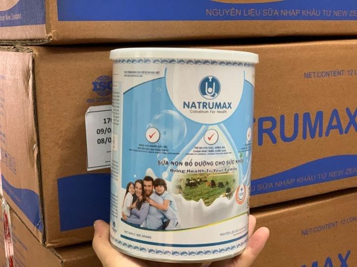 Sữa non Natrumax Special lựa chọn hàng đầu cho sức khỏe